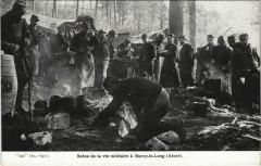 Scene de la vie Militaire a Bucy-le-Long - Bucy-le-Long