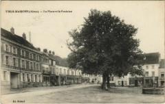 Viels-Maisons - La Place et la Fontaine - Viels-Maisons