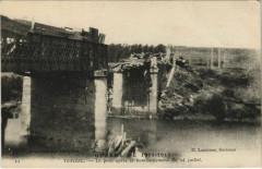 Venizel - Le Pont apres le Bombardement - Venizel