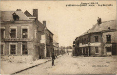 Fresnoy-le-Grand - Rue Gambetta - Ruines - Fresnoy-le-Grand