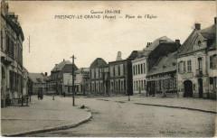 Fresnoy-le-Grand - Place de l'Eglise - Fresnoy-le-Grand