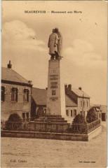 Beaurevoir - Monument aux Morts - Beaurevoir