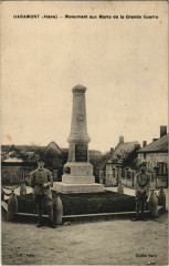 Haramont - Monument aux Morts de la Grande Guerre - Haramont