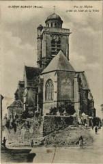 Saint-Remy-Blanzy - Vue de l'Eglise - Cote du Bout de la Ville - Saint-Rémy-Blanzy
