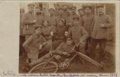 La Fere - Soldiers - Red Cross Nuns - Bicycle - La Fère
