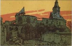 Montfaucon - L'Eglise - Ruines - Montfaucon
