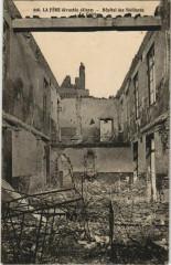 La Fere - Hopital des Vieillards - La Creche - Ruines - La Fère