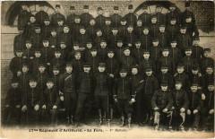 Militaire - La Fere - 17me Régiment d'Artillerie - La Fère