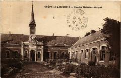 Crepy-en-Laonnois Hospice Malezieux Briquet - Crépy