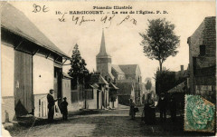 Hargicourt Rue de l'Eglise - Hargicourt