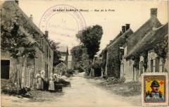 Saint-Remy-Blanzy Rue de la Folie. Timbre de Croix-Rouge - Saint-Rémy-Blanzy
