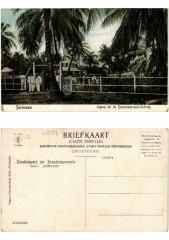 Pc Suriname - Jngang tot de Cocosnootuezel-Fabriek - Brie