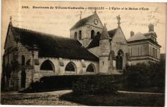 Coyolles L' Eglise et la Maison d'ecole - Coyolles