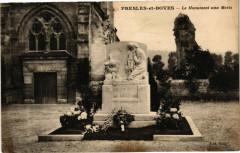 Presles et Boves Le Monument aux Morts - Presles-et-Boves
