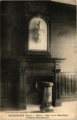Beaurevoir Mairie Buste de la Republique Cheminee ... - Beaurevoir