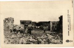 Guerre 1914-1917 Berny-Riviere Ruines de Contecourt - Berny-Rivière