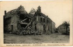 Bataille de l'Ourcq Julliet 1918 Faverolles (Aisme) Maisons.. - Faverolles