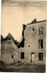 Guerre de 1914 Bataille de la Marne Chambry Maison pres ... - Chambry