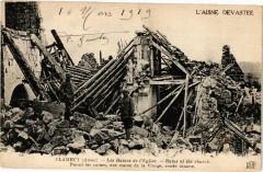 L'Aisne Devastee Clamecy Les Ruines de l' Eglise ... - Clamecy