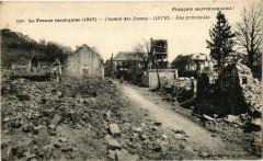 La France reconquise (1917) Chemin des Dames Ostel Rue ... - Ostel