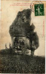 Ostel,pres Vailly La Pierre d'Ostel (Ancien Monument .. - Ostel