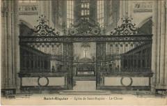 Saint-Riquier Eglise de Saint-Riquier Le Choeur - Saint-Riquier