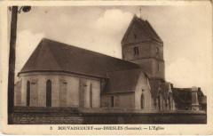 Bouvaincourt-sur-Bresles Eglise - Bouvaincourt-sur-Bresle
