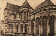 Saint-Riquier Eglise Abbatial Abside et Gargouilles - Saint-Riquier