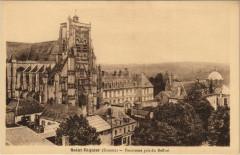 Saint-Riquier Panorama pris d Beffroi - Saint-Riquier