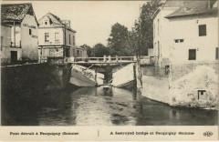Guerre Military Picquigny Pont détruit - Picquigny