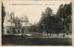Chateau de Rambures Entrée principale - Rambures