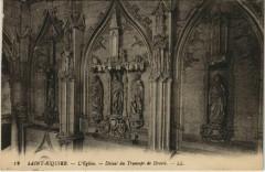 Saint-Riquier Eglise Détail du Transept de Droite - Saint-Riquier