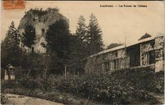 Lucheux Les Ruines du Chateau - Lucheux