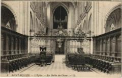 Saint-Riquier Eglise Les Stalles du Choeur - Saint-Riquier