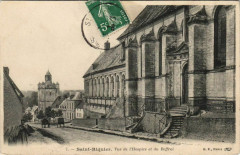 Saint-Riquier Vue de l'hospice et du Beffroi - Saint-Riquier