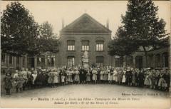 Barlin - Ecole des Filles compagnie des Mines de Nouex - Barlin