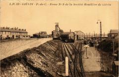 Lievin - P.de-C. - Fosse No 3 de la ociété Houilliere de Lévin - Liévin