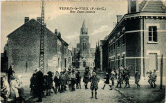 Vendin-le Vieil (P.-de-C.) - Rue Jean-Jaurés - Vendin-le-Vieil