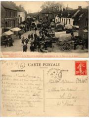 Therouanne Ville fortifiee. La Place un jour de Marché - Thérouanne
