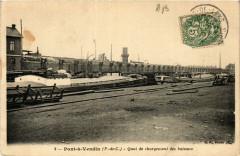 Pont-a-Vendin Quai de dechargement des bateaux - Pont-à-Vendin