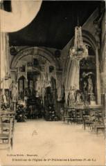 Liettres Interieur de l'Eglise deSainte-Philomene - Liettres
