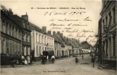 Environs de Brouay. Houdain Rue du Bourg - Houdain