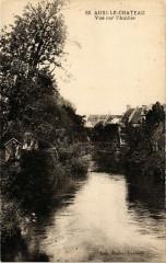 Auxi-le-Chateau - Vue sur l'authie - Auxi-le-Château