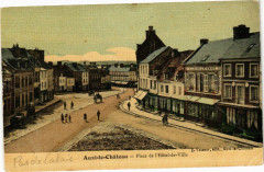 Auxi-le-Chateau - Place de l'hotel de ville - Auxi-le-Château