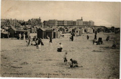 Berck - sur-Plage - La Plage a Mer basse 62 Berck