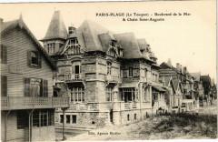 Paris-Plage - Boulevard de la Mer & Chalet Saint-Augustin - Saint-Augustin