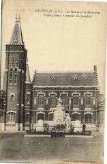 Oignies La Mairie et la Monument Urzad gminny i . - Oignies