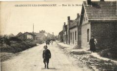 Grancourt-les-Harrincourt - Rue de la Messe - Incourt