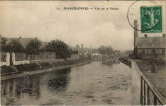 Marchiennes - Vue sur la Scarpe - Marchiennes