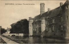 Esquelbecq - Le Chateau Vue prise des Jardins - Esquelbecq